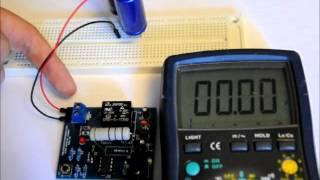 The Variable Super Capacitor Charger DIY Electronics Kit !!!