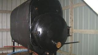 My homebuilt wood boiler
