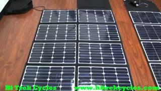 120w - 300w Solar Panels to Charge Electric bikes