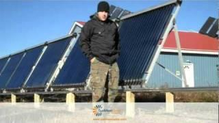 SunMaxx Solar SHW Warehouse Solar Thermal System