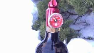 CO2 Vs. Compressed Air Pressure demonstration