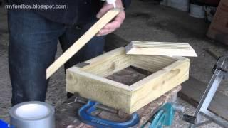 Metal Casting at Home Part 32 Making Moulding Flasks