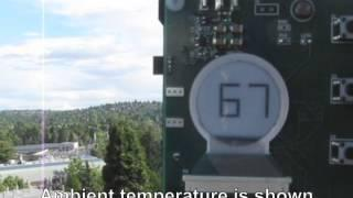 Ambient RF-powered Display Node
