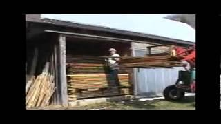 Kiln Drying Lumber with the Solar Cycle Kiln DVD Preview Clip