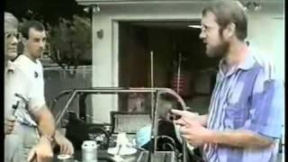Stan Meyer explains the (Water Fuel Technology) on the dune buggy