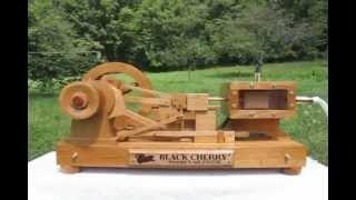 Black Cherry Wooden Air Engine
