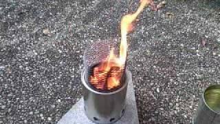 Wood gas stove and boil test by nate887