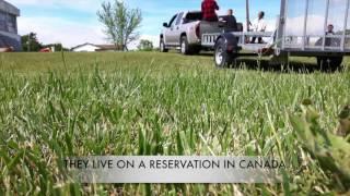 Earthship Humanitarian Build in Six Nations, Canada
