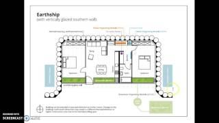 Earthship Project Blueprint Info.
