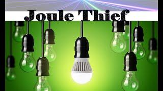 how to make a FREE and easy JOULE THIEF