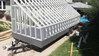 4k HD: Woodworking; Milling the solar kiln siding