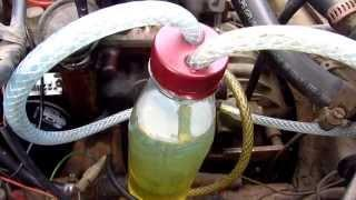 Mini Fuel Tank from a Plastic Bottle