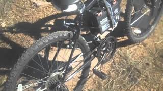 P4D2 self charging solar electric bike ride