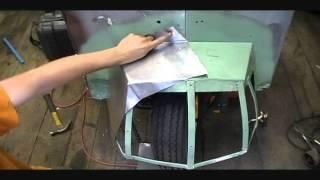 1961 Cushman Truckster EV Conversion LiFeP04 - Part 5 Front Aerodynamics