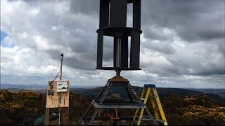 Vertical Axis Wind Turbine - New Forest R&D