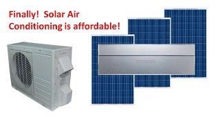 Solar Air Conditioning Part 1
