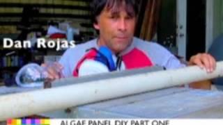 PVC cutting a channel for Algae panels DIY forced air heater CPVC