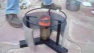 Cooking stove operaiting on jatropha