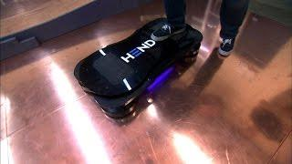 Crave - Taking a spin on a real-life hoverboard