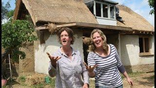 HOW TO BUILD A MUD (COB) HOUSE CHEAP TO LAST 10,000 YEARS. ENGLAND.