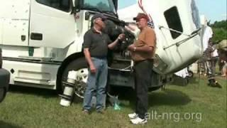 #179 Bill Tucker talks about his Volvo big rig HHO