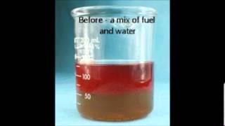 How to remove water and diesel bug from fuel tank