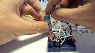 Joule Thief - No toroid, No coil - with Schematic