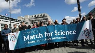 March For Science Protests Take Hold Across The Globe