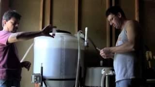Home Biodiesel Lubbock Texas Scott Howard making home biodiesel