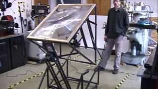 NC State/ UNC Asheville Mechatronics Engineeering- Senior Design Project 2009- Solar Steam Generator