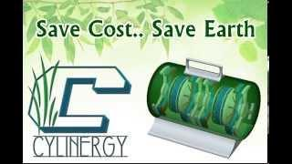 Cylinergy - Portable Free Alternative Electrical Energy Generator. No Fuel. No Noise. Green Power.