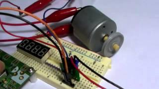 STM8S - PWM Test (DC Motor Control)