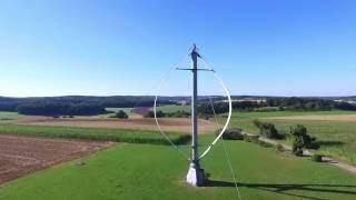Darrieus Windkraftanlage Heroldstatt