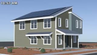 Passive Solar Design Technical Animation
