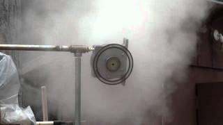 Teslajet turbine 1kW Home power.wmv