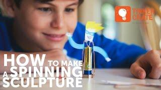 How to Make a Spinning Homopolar Motor Sculpture
