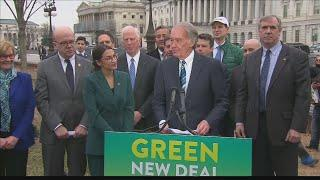 Congresswoman Alexandria Ocasio-Cortez releases 'Green New Deal' outline