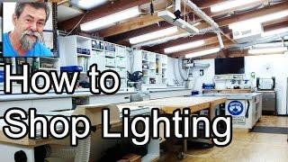 How To | Light My Shop | Energy Efficient LED | Solar | DIY lighting