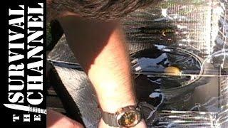 Solar cooking an Egg in a Sunflair solar oven -The Survival Channel -Outdoor Gear Reviews