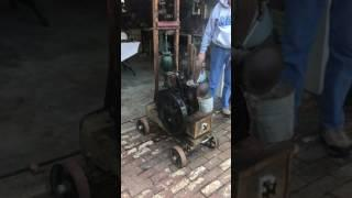 1912 steam powered generator