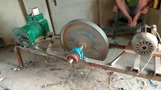 Flywheel free energy generator is not working