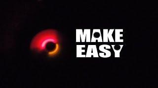 DIY- Led spinning  - Make Easy