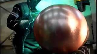 SONNE solar system, copper Boiler production