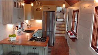 Gorgeous Luxury Tiny House With A Full Kitchen