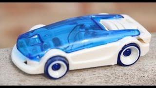 DIY Salt Water Fuel Powered toy Car // Green Energy