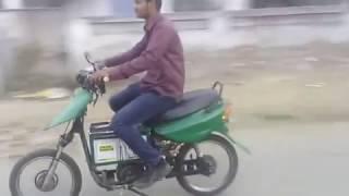 Electric bike with self charging