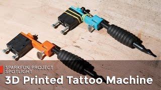 SparkFun 3D Printed Tattoo Machine