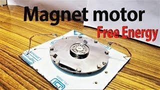 Free Energy  Magnet motor 100% working (Et Discover)