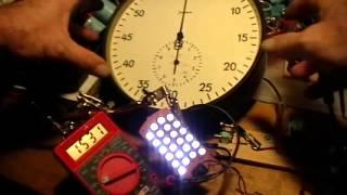 Joule Thief: JTBasic + 70nF Energy Run 1
