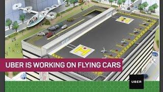 Uber's serious about flying cars (CNET News)